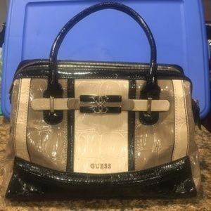 Guess Large Satchel Bag